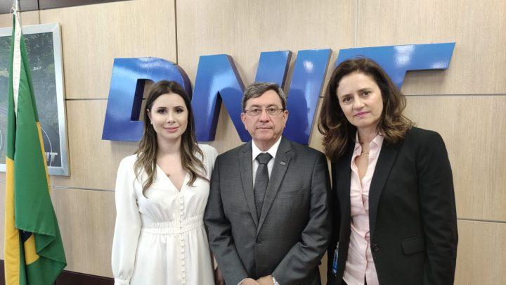 Deputada Caroline De Toni faz apelo ao ministro da Infraestrutura sobre a situação da BR-163/SC