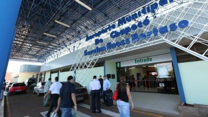 TCE libera edital de concessão do Aeroporto Serafim Bertaso de Chapecó