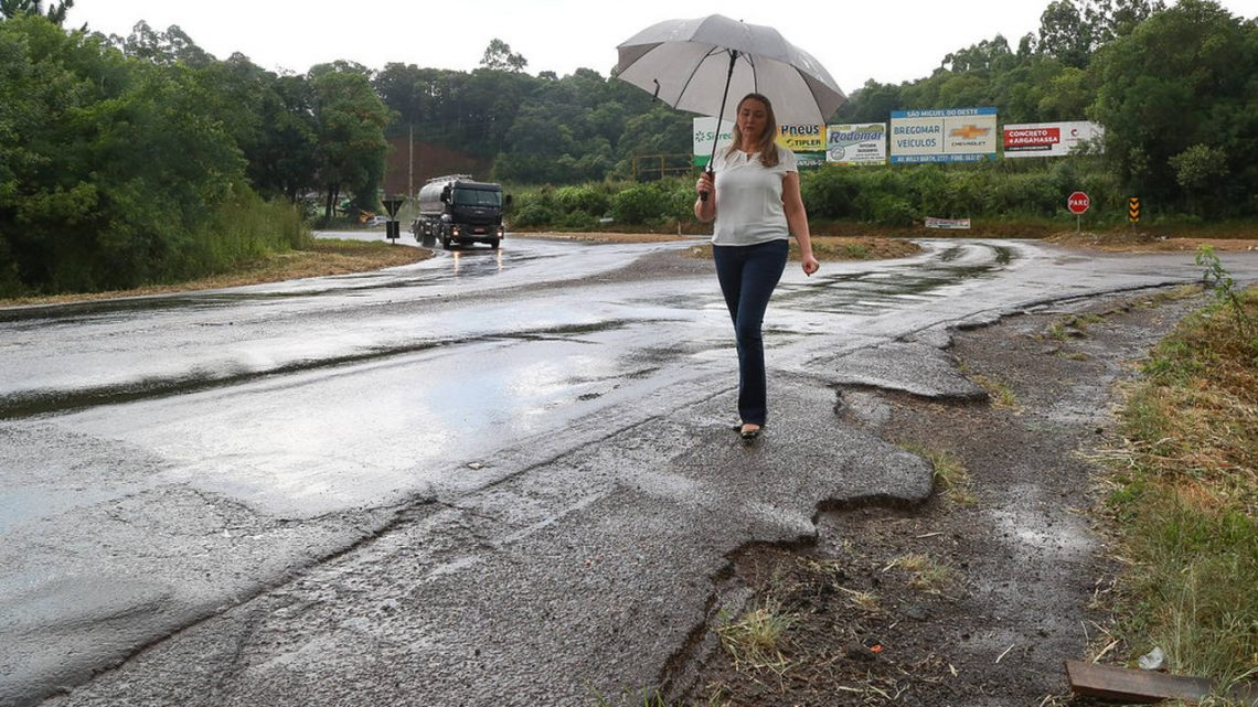Governadora Daniela Reinehr vistoria mais rodovias do Oeste
