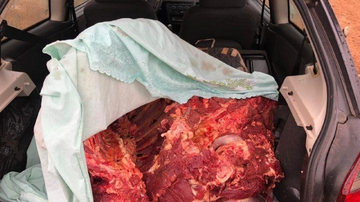 Dois homens são apreendidos por furto de carne no bairro Eldorado em Chapecó