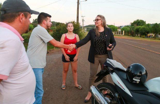 Governadora em exercício inicia roteiro pelas estradas do Oeste catarinense