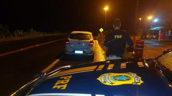 Carro roubado domingo no RS é recuperado na BR 158 em Palmitos