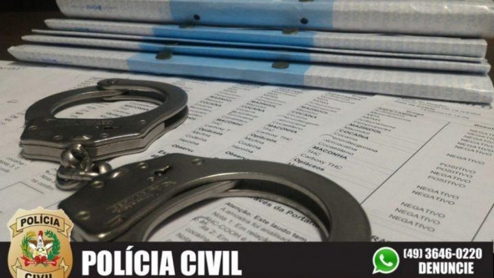 Polícia Civil de Cunha Porã conclui investigação sobre exames toxicológicos fraudados e indicia 14 pessoas por falsidade ideológica