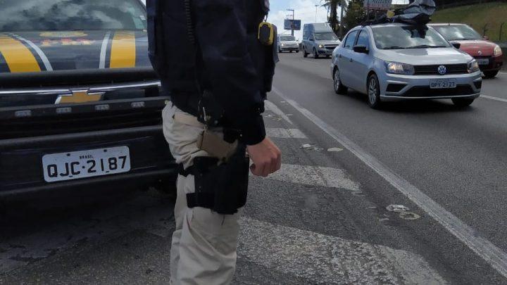 PRF flagra diversas infrações de trânsito no primeiro final de semana de 2020