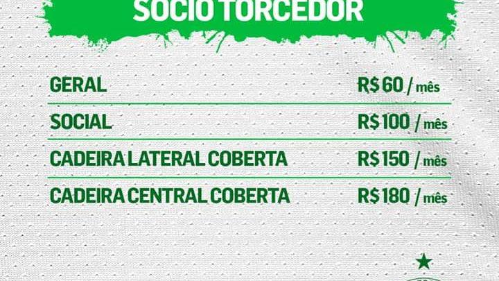 Chapecoense apresenta novos valores de sócio para a temporada 2020