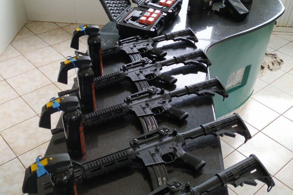 Polícia Militar Rodoviária de Iporã do Oeste recebe novos equipamentos e armamentos