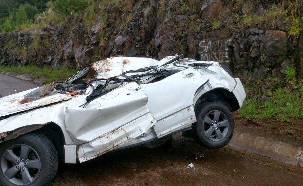 Morador de Chapecó morre em grave acidente na BR-282