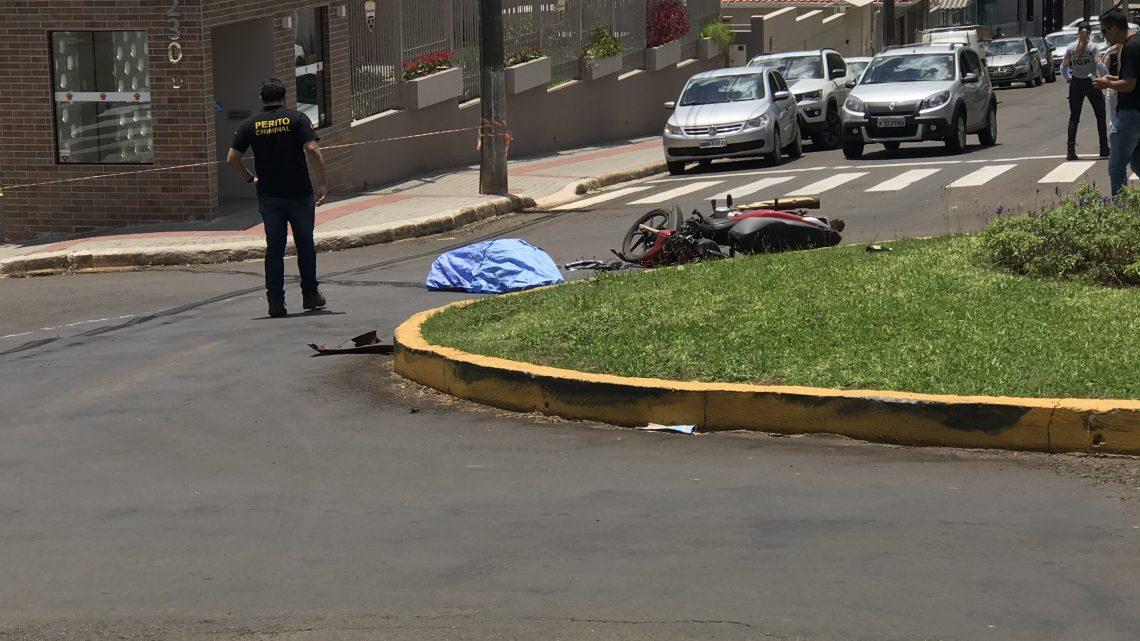 Homem morre após grave acidente em Chapecó