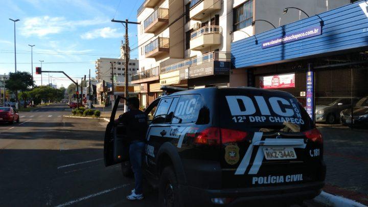 Coronavírus em SC: em Chapecó, Polícia Civil fiscalizou 520 estabelecimentos e fechou 167