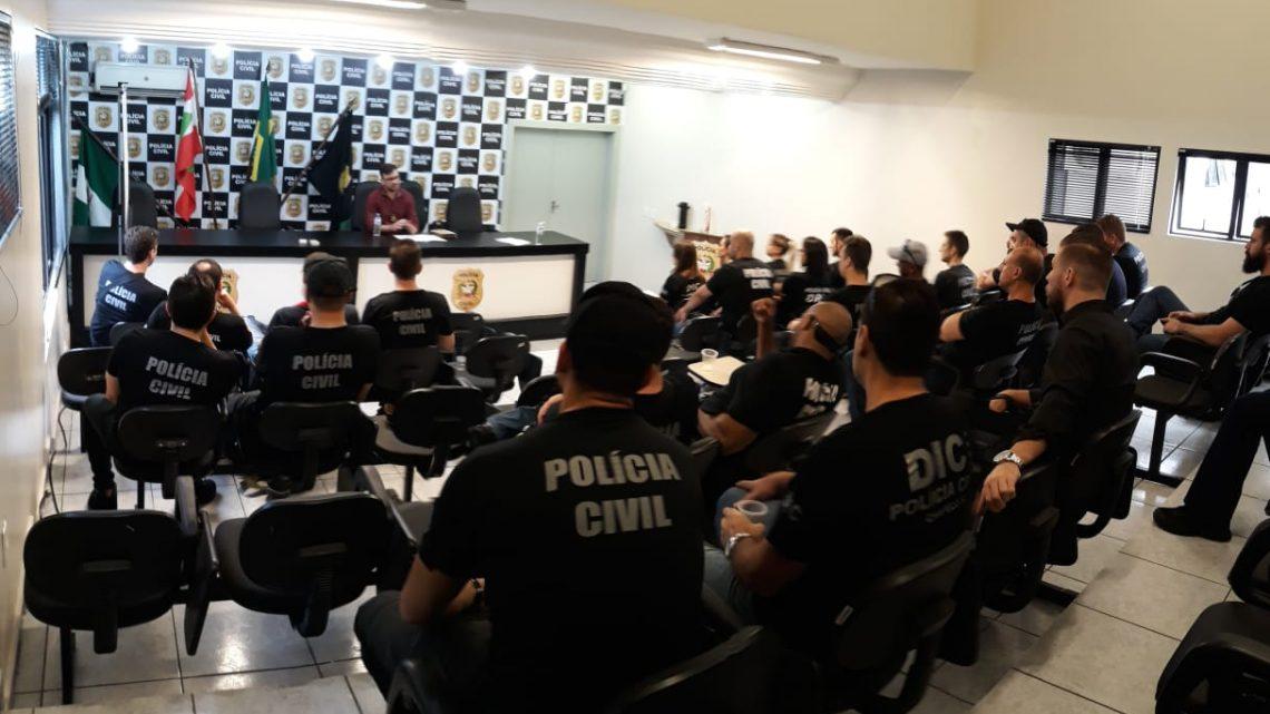 """Polícia Civil por meio DIC/Fron de Chapecó deflagram operação """"Morbus Falsum"""" de combate a fraudes de seguros de vida e DPVAT"""