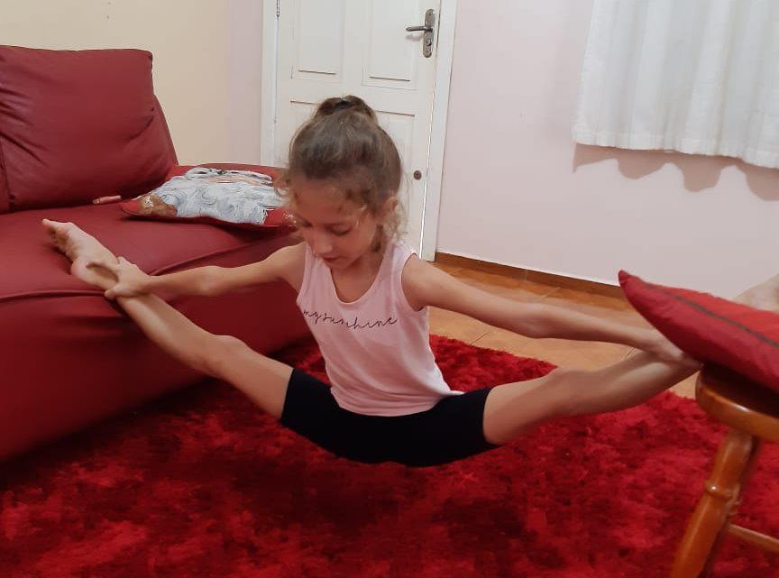 Tecnologia auxilia ginastas a manter treinamentos em casa, durante quarentena