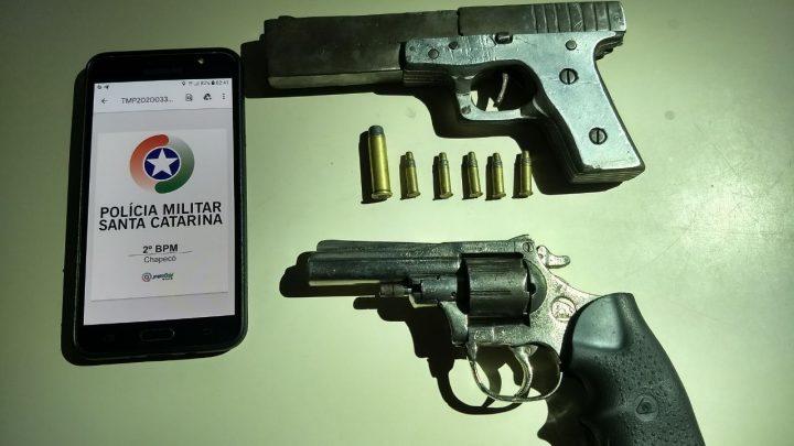 Adolescente é apreendido por posse ilegal de armas em Chapecó