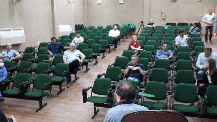 Coronavírus – Lideranças empresariais de Chapecó reúnem-se com prefeito e enviam propostas ao governador