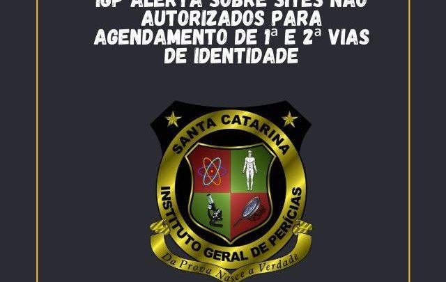 IGP alerta sobre sites não autorizados para agendamento de 1ª e 2ª vias de identidade