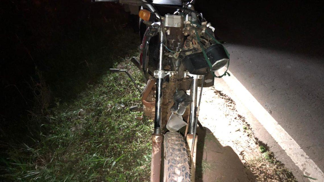 Pedestre é atropelado por motocicleta na SC-283 em Chapecó