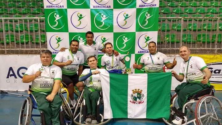 Atletas de Chapecó foram pré-convocados para Seleção Brasileira de Handebol em cadeira de rodas
