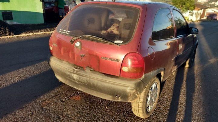 Em saída temporária de 7 dias, homem foi preso com carro furtado em Chapecó
