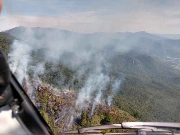 Incêndios em vegetação no estado SC crescem 407% em 2020, aponta Corpo de Bombeiros Militar