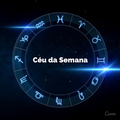 CÉU DA SEMANA – 01 a 07 de junho – Confira as Tendências!