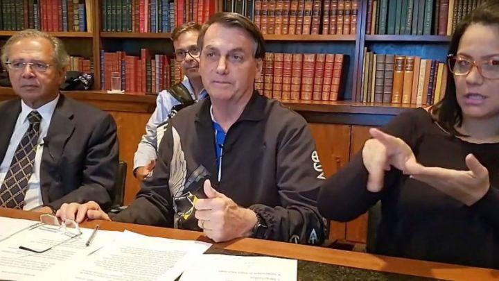 Bolsonaro anuncia mais três parcelas do auxílio emergencial