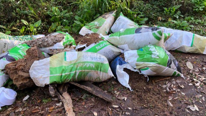 Comunidade denúncia e infrator é identificado e multado por descarte irregular de lixo em Chapecó