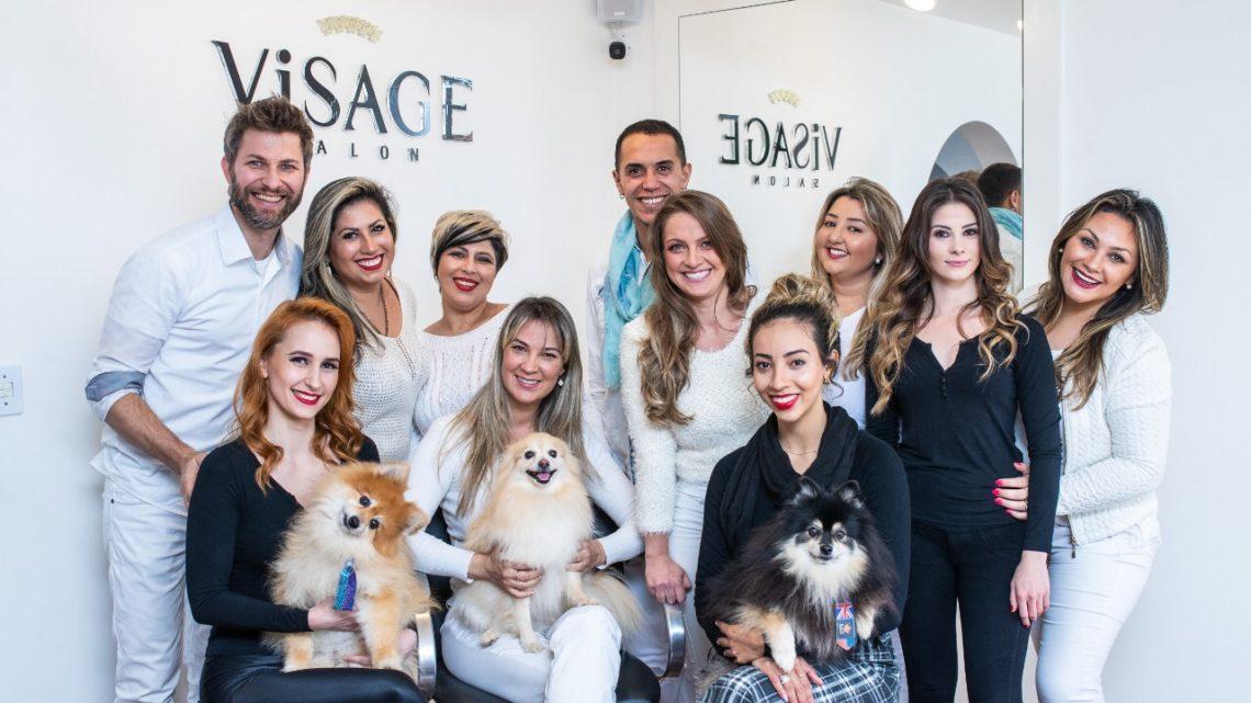 Visage Salon, conforto e sofisticação