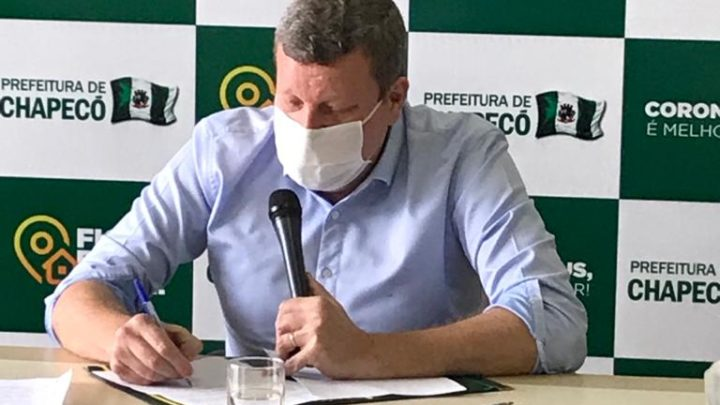 Chapecó anuncia novas medidas restritivas de combate ao coronavírus
