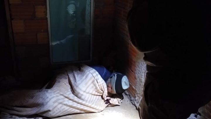 Morador de rua idoso de Guatambu é resgatado em Ponte Serrada