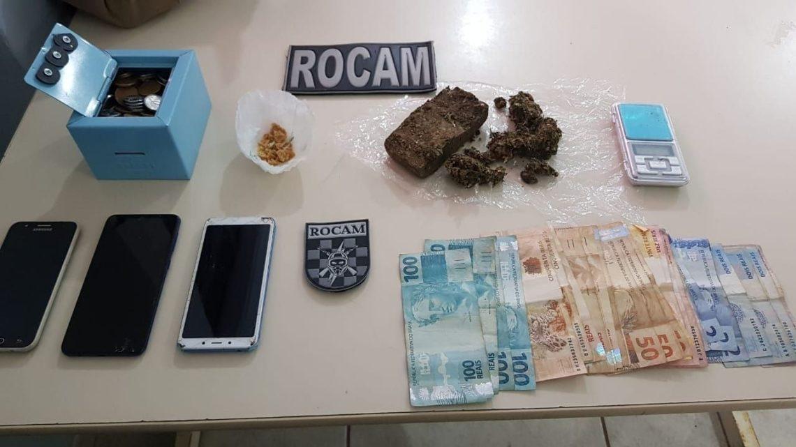 Homem é preso com drogas dentro da cueca no bairro Efapi