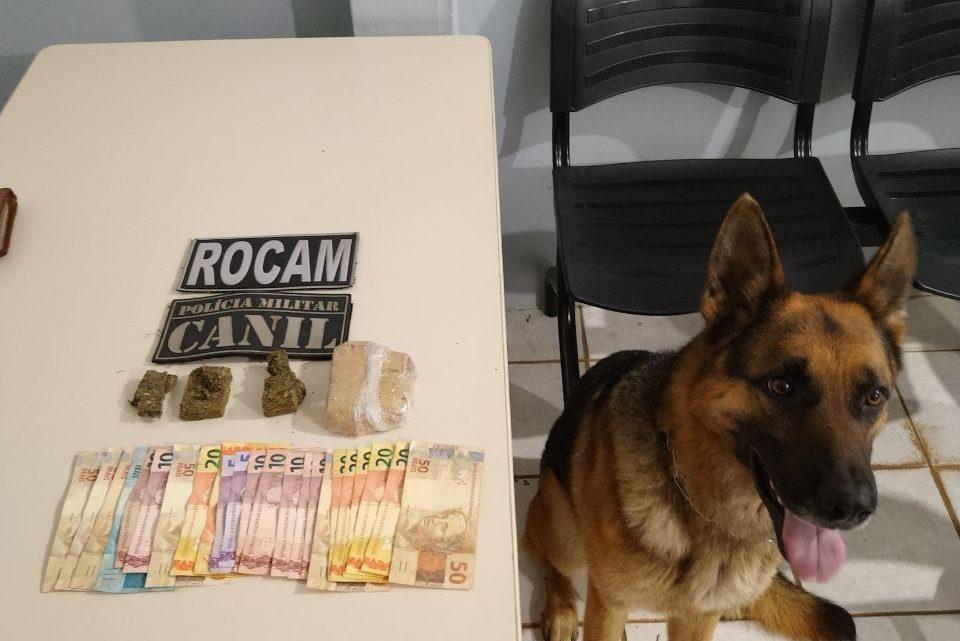 Homem é detido por tráfico de drogas no bairro Alvorada