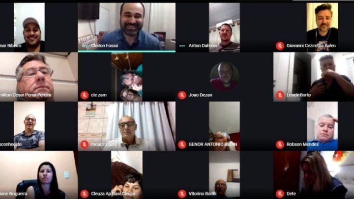 """Programa """"Você Vereador"""" reúne moradores do bairro Efapi em plataforma online"""