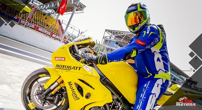 Motobatt renova patrocínio com a equipe Motonil para a volta do SuperBike Brasil