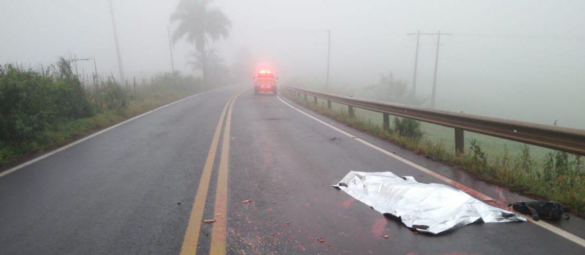 Pedestre morre atropelado em São Domingos