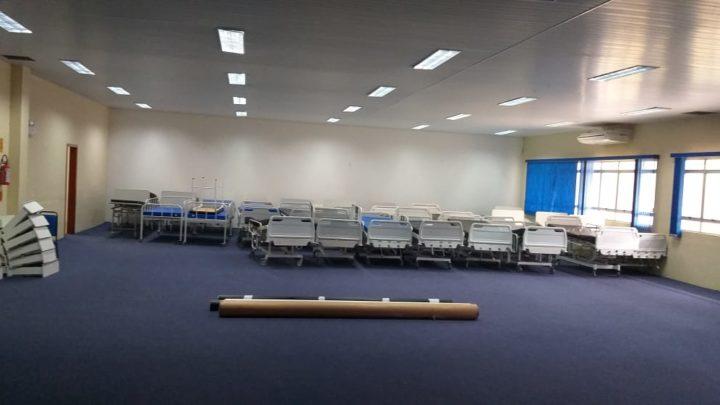 Ministério da Saúde libera 18 profissionais para Chapecó e Centro de Eventos terá 30 leitos