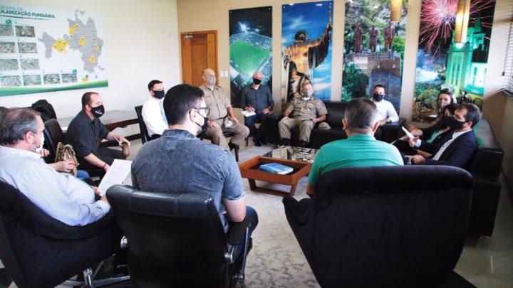 Prefeitura faz reunião para tratar sobre medidas para conter imigração ilegal em Chapecó