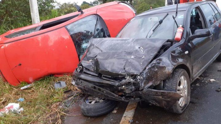 Duas crianças morrem em grave acidente na BR 470 em SC