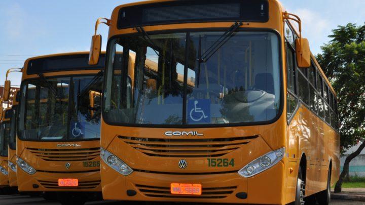 Transporte coletivo retoma horários normais no dia 5 de abril, com 50% de ocupação
