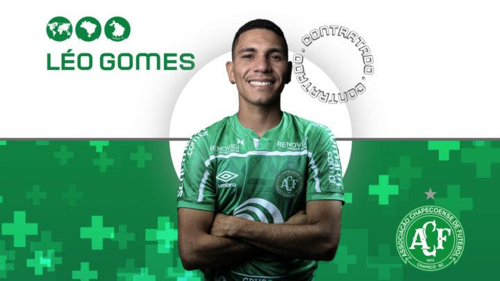 Léo Gomes é o novo reforço do Verdão