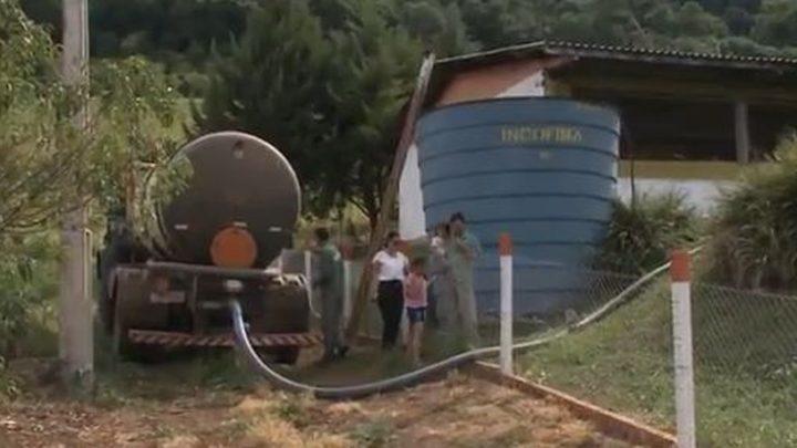 Estiagem em SC deixa 21 cidades em situação crítica ou de alerta para desabastecimento de água