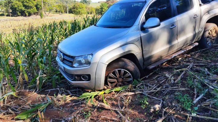 Colisão entre veículos deixa uma pessoa ferida em Formosa do Sul