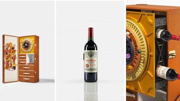 Garrafa de vinho envelhecido no espaço é colocada à venda por cerca de US$ 1 milhão
