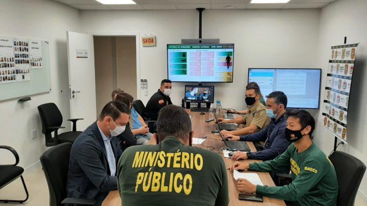 GAECO deflagra duas operações de combate a organização criminosa em Santa Catarina, Rio Grade do Sul, Paraná e Mato Grosso