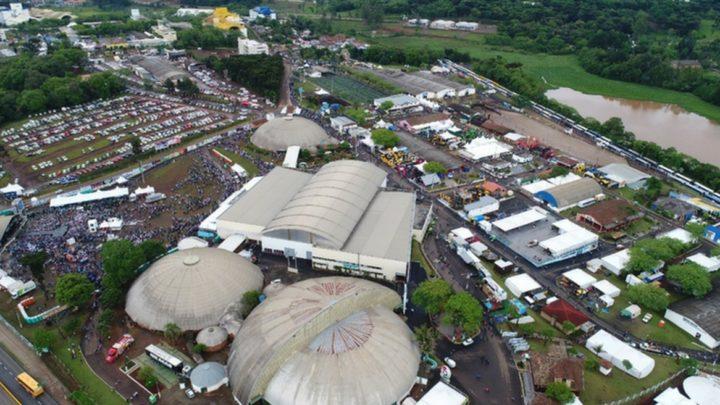 Administração anuncia novo pavilhão no Parque da Efapi em Chapecó