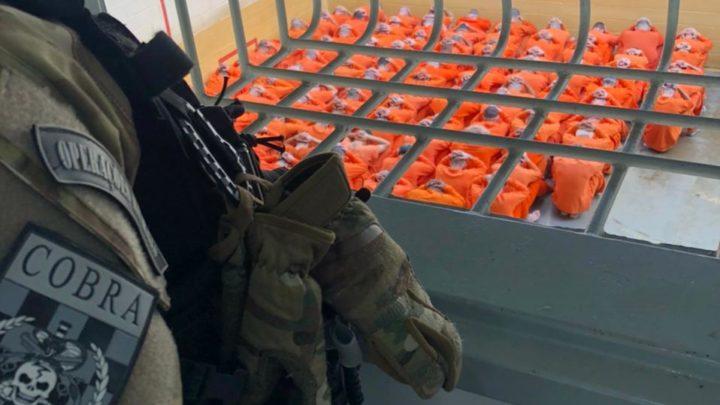 PMSC e DEAP dão fim a rebelião com reféns em penitenciária de SC