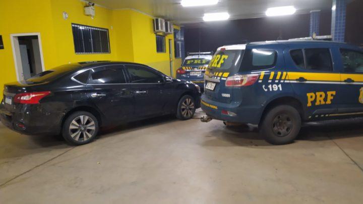 Vídeo: automóvel furtado no Rio Grande do Sul é recuperado na BR 282 em Irani