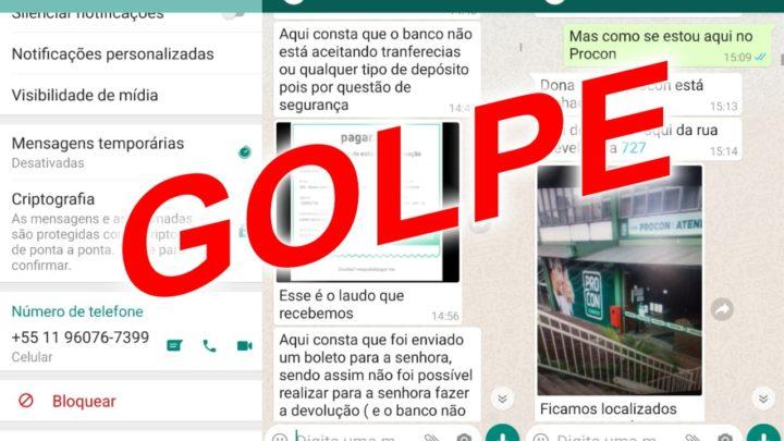 Procon de Chapecó alerta para golpe no Whatsapp