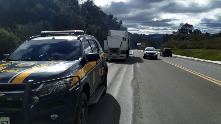 PRF alerta: motoristas de veículos movidos a diesel devem ter cuidado no frio extremo