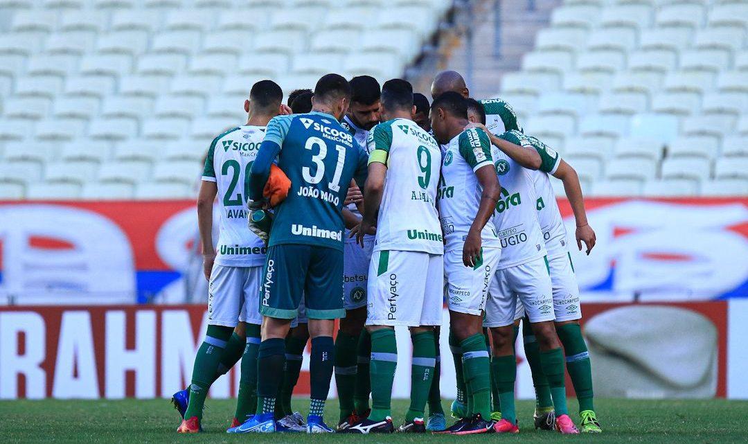 Chapecoense é superada pelo Fortaleza