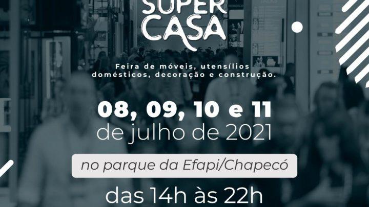 Feira Super Casa acontece no Parque da Efapi em Chapecó