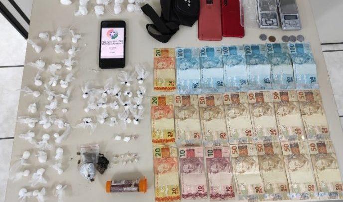 Usuário de drogas é assaltado ao comprar entorpecentes em SC